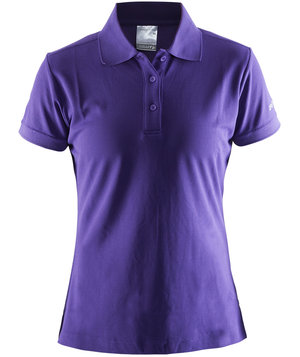 Craft Pique Classic lady polo shirt, Vision purple