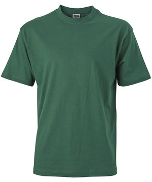 James & Nicholson T-shirt Basic-T, 100% bomull, Dark-Green