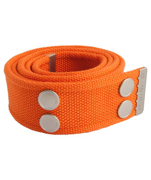 Dunderdon BE01 bælterem, Orange/Krom
