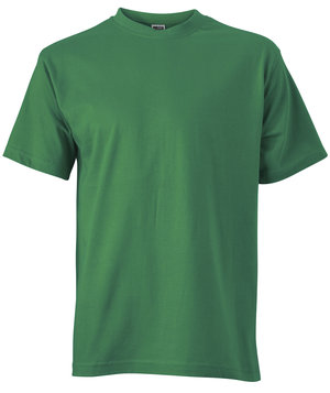 James & Nicholson T-shirt Basic-T, 100% bomull, Irish-Green