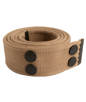 Dunderdon BE01 belt, Khaki/Black