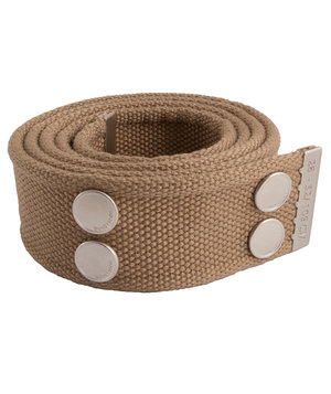 Dunderdon BE01 belt, Khaki/Chrome
