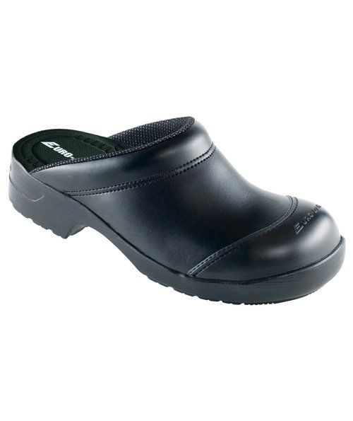 Euro-Dan Flex safety clogs without heel cover SB, Black
