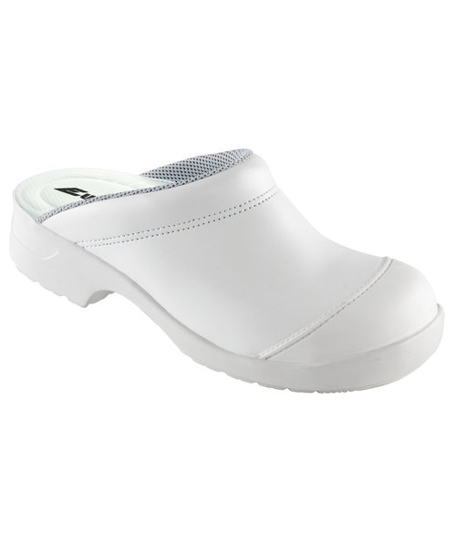 Euro-Dan Flex safety clogs without heel cover SB, White