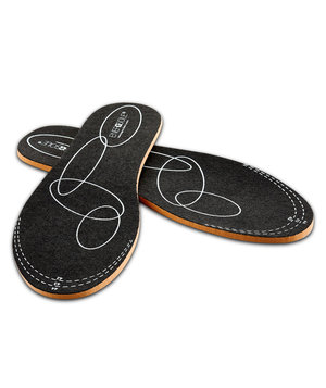 Sanita EnergySole® Original 3,0 mm indlægssåler, Sort