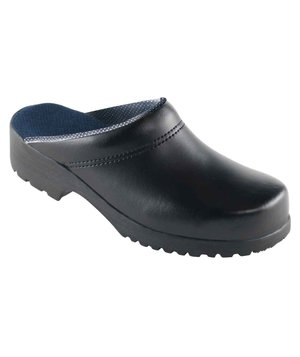 Euro-Dan Airlet Flex clog without heel cover, Black