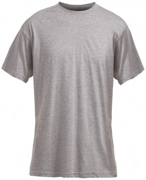 Acode Heavy T-shirt, 100% cotton, Grey Melange