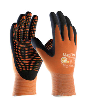 MaxiFlex Endurance 34-848 work gloves, Orange/Black