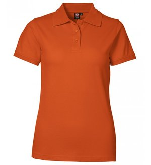 2. Sortering ID dame Pique Polo T-shirt med stretch, Orange