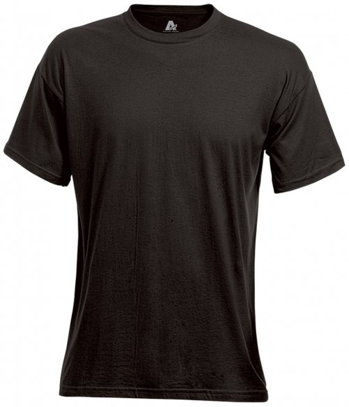 Fristads Acode Heavy T-shirt, 100% bomuld, Sort