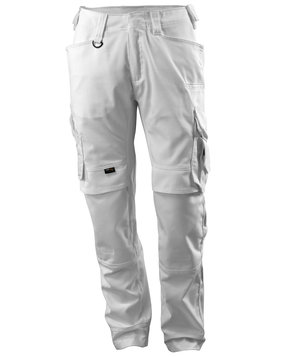 Mascot Adra craftsmens trousers, White