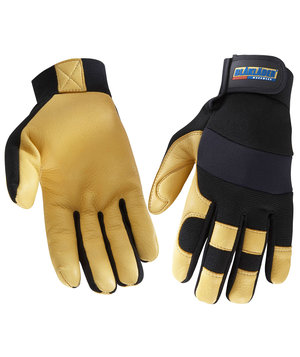 Blåkläder craftman glove, Black/Yellow