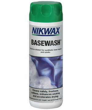 Nikwax Base Wash til basis og mellemlag 300 ml, Transparent