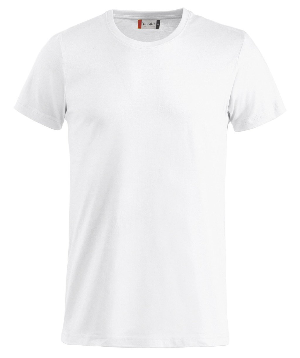 Vit basic t shirt