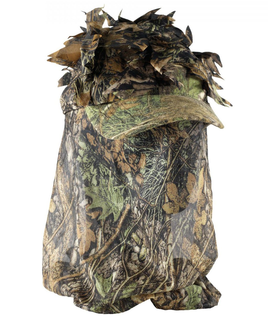 Deerhunter Sneaky 3D cap with facemask, Camouflage