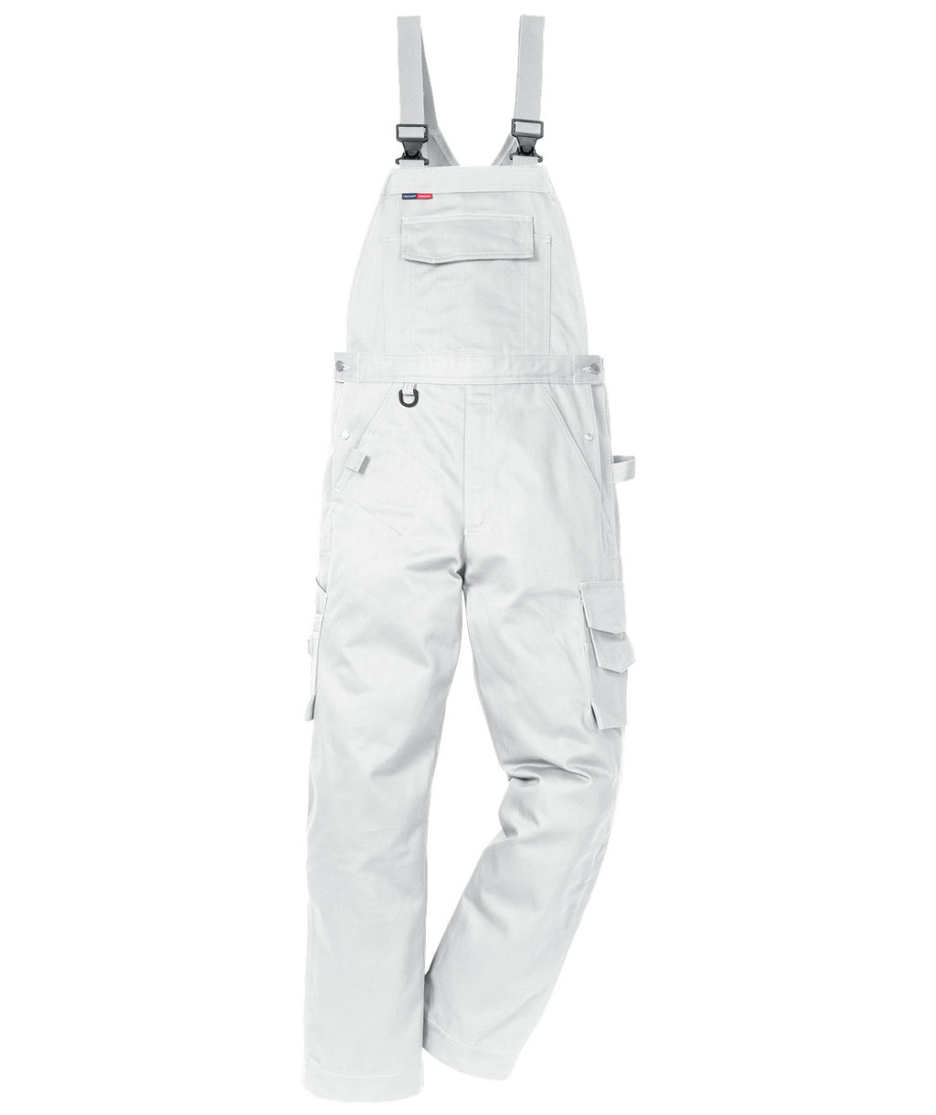 Kansas Icon One overalls, 100% bomuld, Hvid