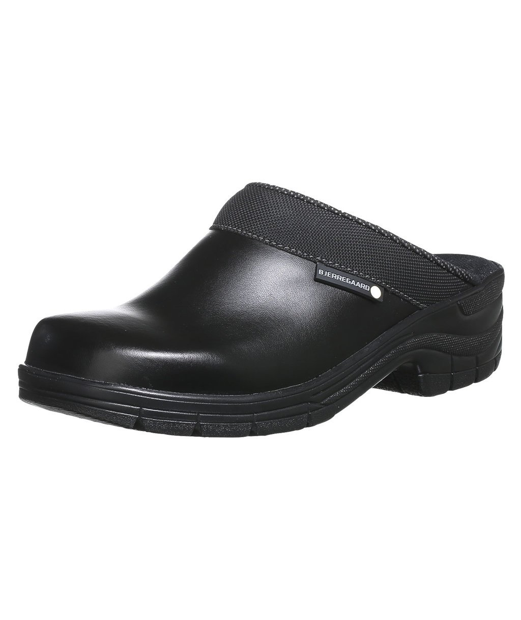 Bjerregaard 5910 clogs without heel cover, Black