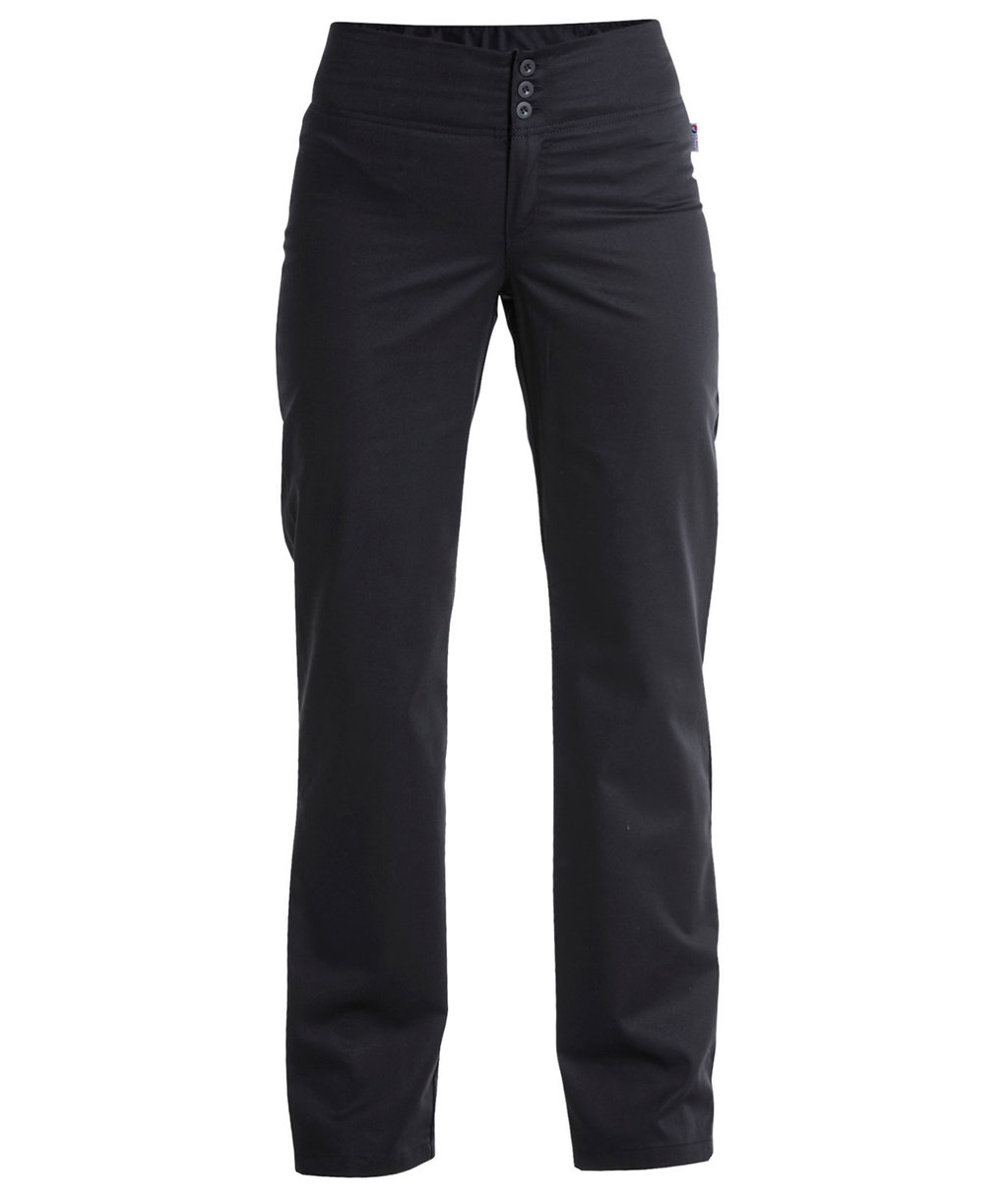 Hejco women's trousers with stretch, Black