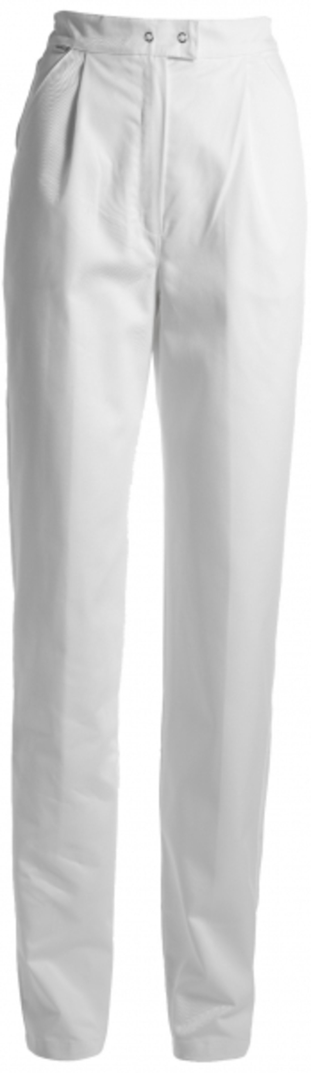 Kentaur women's trousers, 100% cotton, White