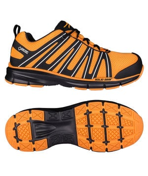Solid Gear Revolt safety shoes S3, Orange/Black