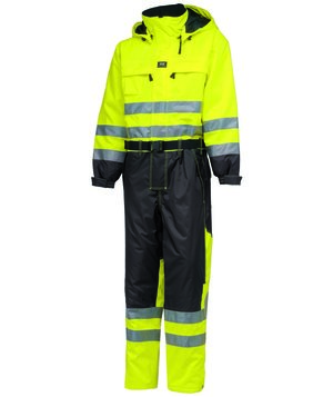 Helly Hansen WW Ludvika thermal coverall, Hi-Vis Yellow/Charcoal