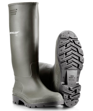 Dunlop Pricemaster rubber boots, Green