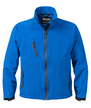 Acode light softshell jacka, Ljus turkos
