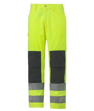 Helly Hansen WW Alta work trousers, Hi-Vis Yellow/Charcoal