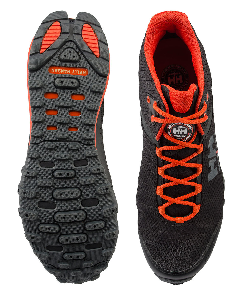 e125bf592b5 Helly Hansen WW Rabbora Trail Mid running shoes, Black/Orange