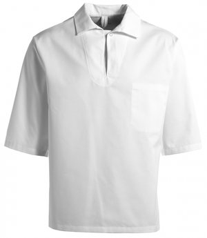 Kentaur smock w. short sleeves, HACCP-approved, unisex, White