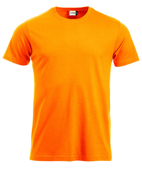 Clique New Classic T-shirt, Hi-Vis Orange