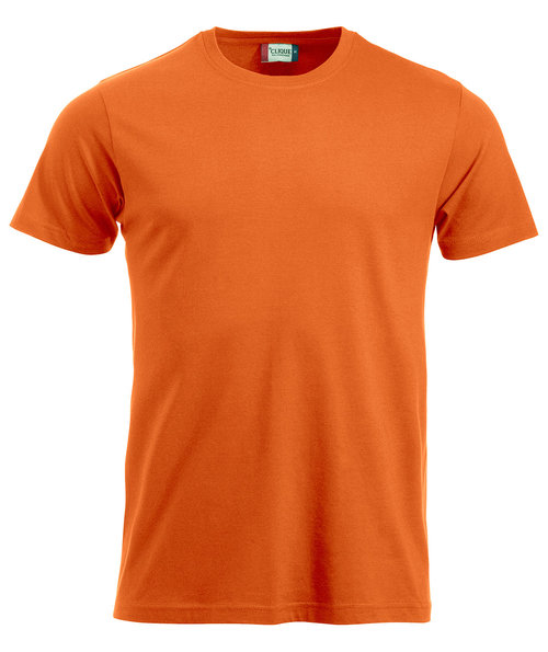 Clique New Classic T-shirt, Orange