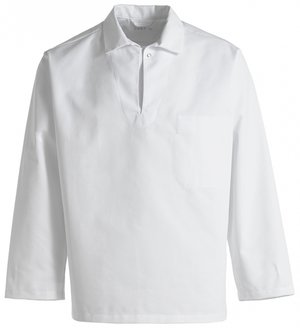 Kentaur smock, HACCP-approved, unisex, White