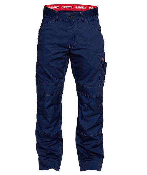 FE Engel Combat Work trousers, 100% cotton, Marine Blue