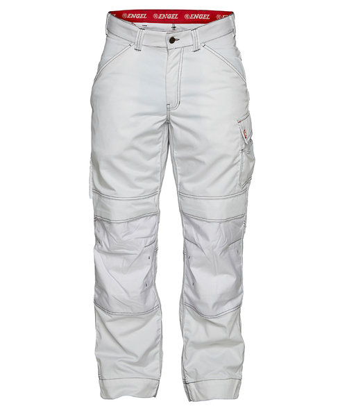 FE Engel Combat Work trousers, 100% cotton, White
