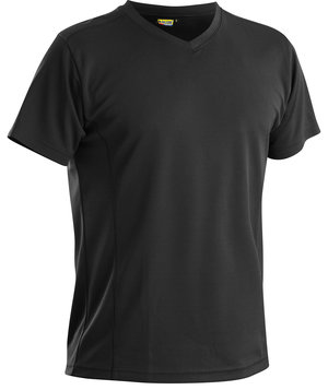 Blåkläder T-shirt, UV-protection UPF 40+, Svart