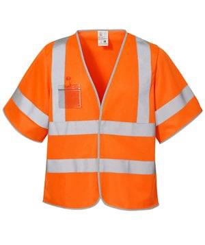 ID refleksvest, Orange