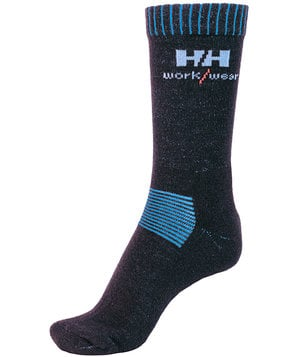 Helly Hansen WW 2-Pack Vaasa socks, Black/Blue