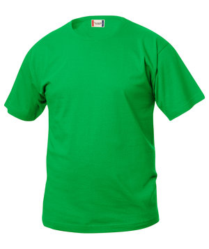 Clique Basic childrens T-shirt, Apple Green