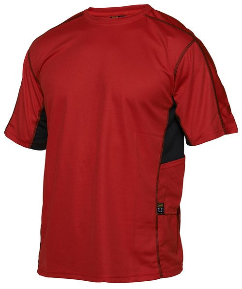 Workzone Technical T-shirt, Red/Black