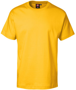 ID Game T-shirt for kids, 100% cotton, Yellow