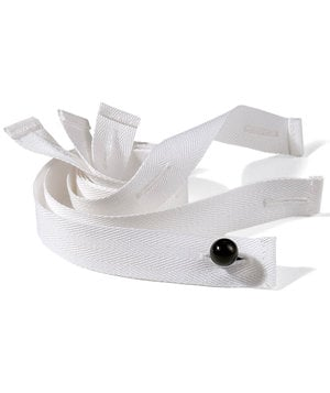 Hejco button tape, White