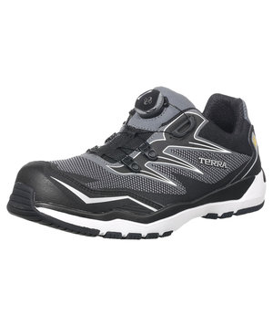 Terra 26001 Velocity safety shoes S1P, Black