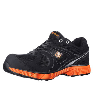 Terra 16107 safety shoes S1P, Black