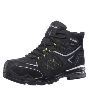 Terra 96395 safety bootees S3, Black
