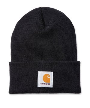 Carhartt Watch knitted beanie, Black