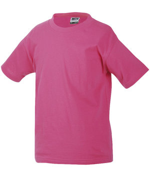James & Nicholson kids T-shirt Junior Basic-T, Rosa