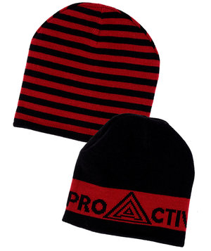 Proactive by JBS beanie, Black/Red