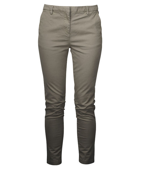 Cutter & Buck Bridgeport dame chino, Khaki/Sand