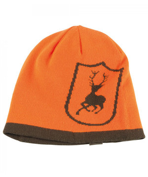 Deerhunter Cumberland reversible knitted beanie, Orange
